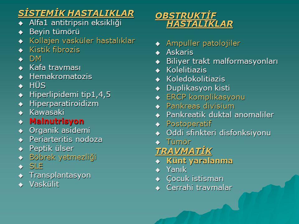OBSTRUKTİF HASTALIKLAR
