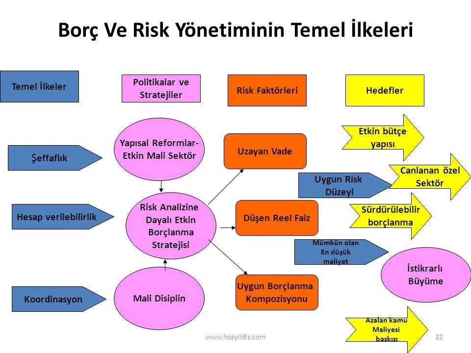 Borç Ve Risk Yönetiminin Temel İlkeleri