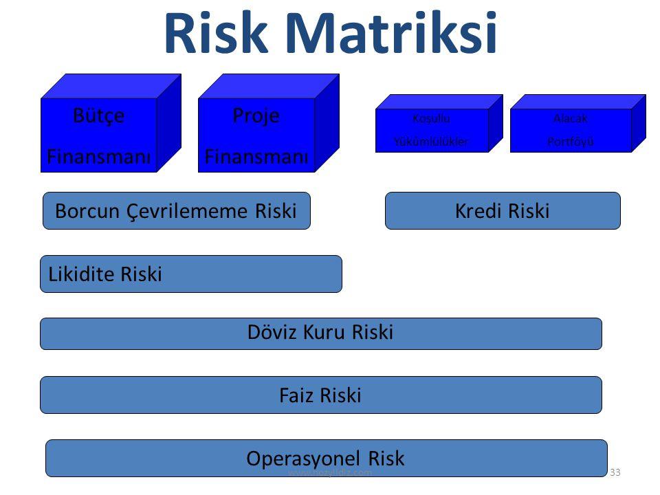 Borcun Çevrilememe Riski