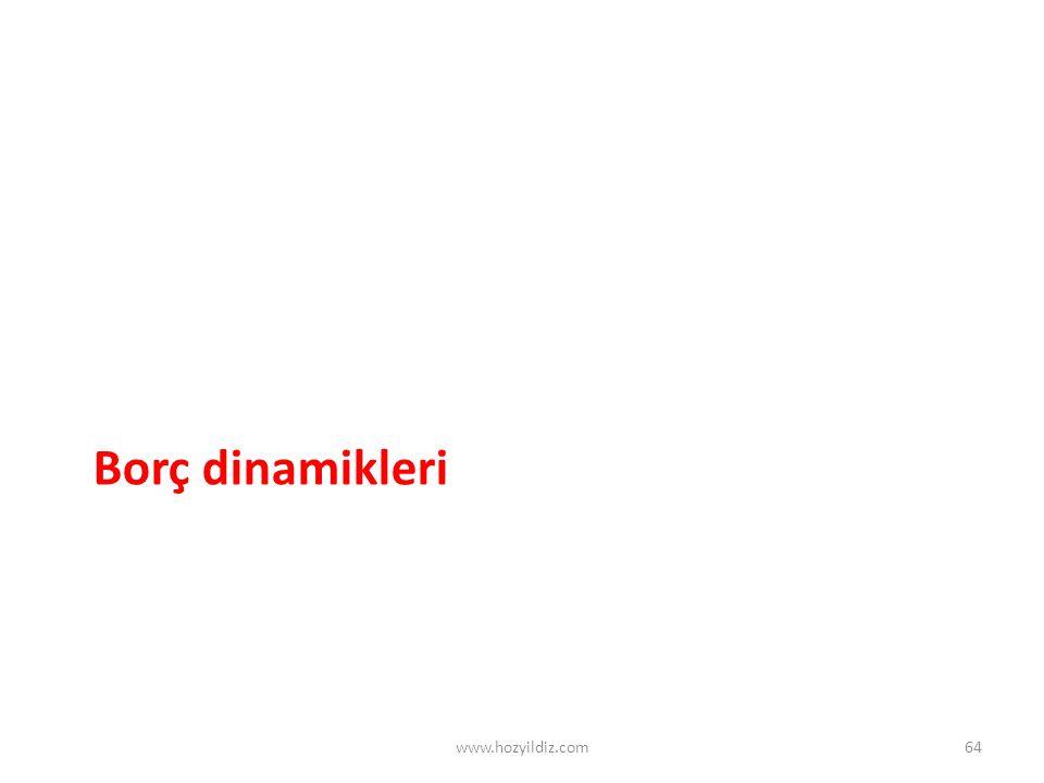 Borç dinamikleri www.hozyildiz.com