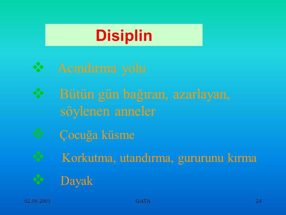 Disiplin Acındırma yolu Bütün gün bağıran, azarlayan, söylenen anneler