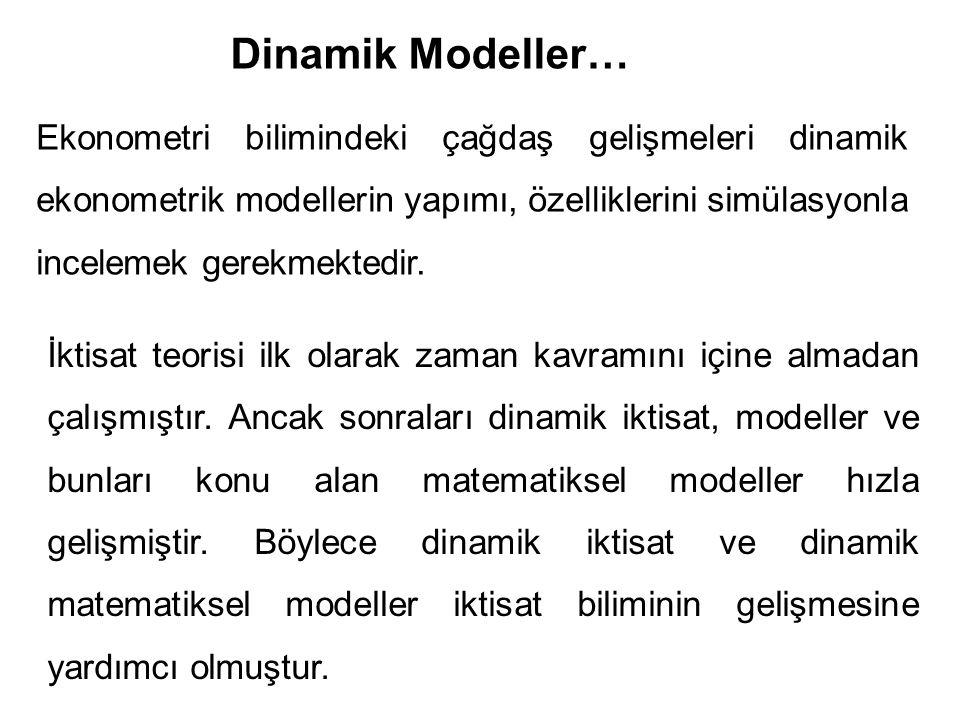 Dinamik Modeller…