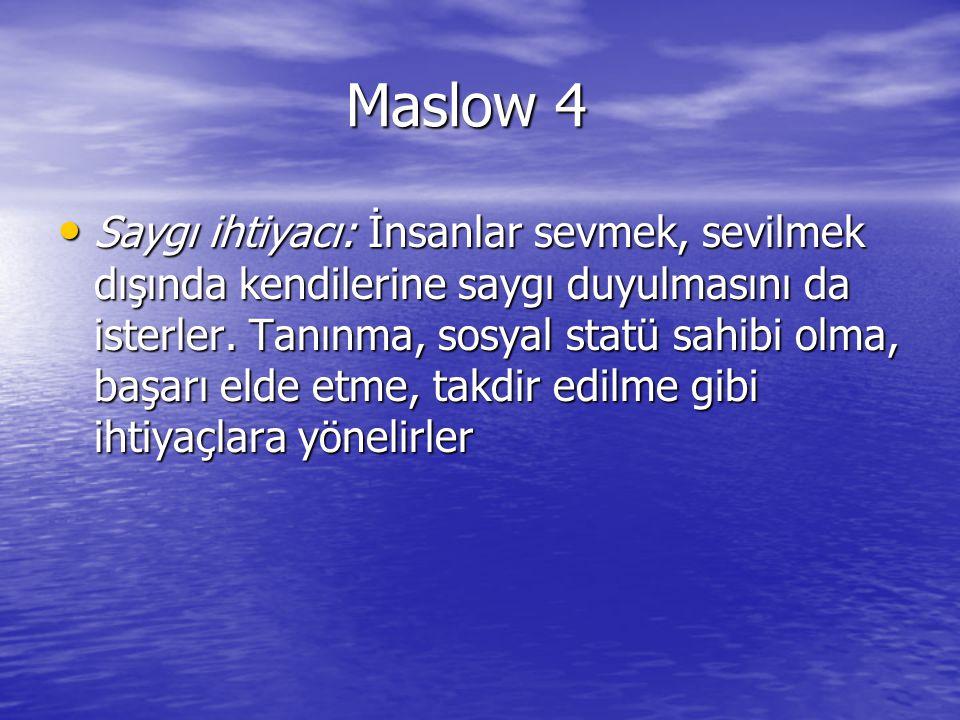 Maslow 4