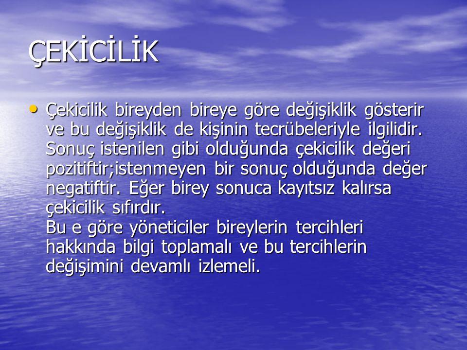 ÇEKİCİLİK