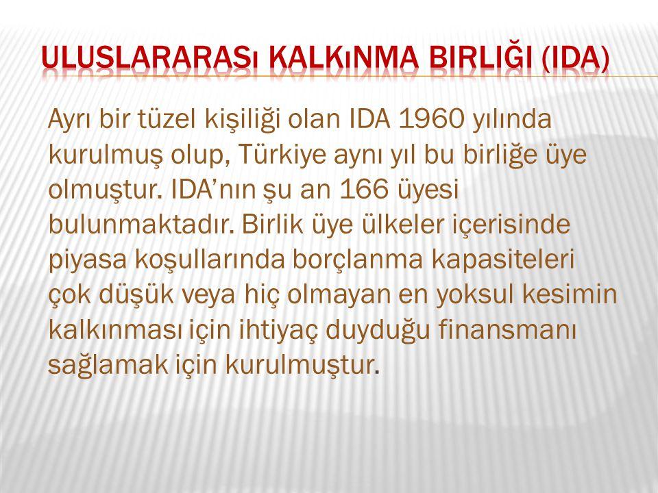 Uluslararası Kalkınma Birliği (IDA)