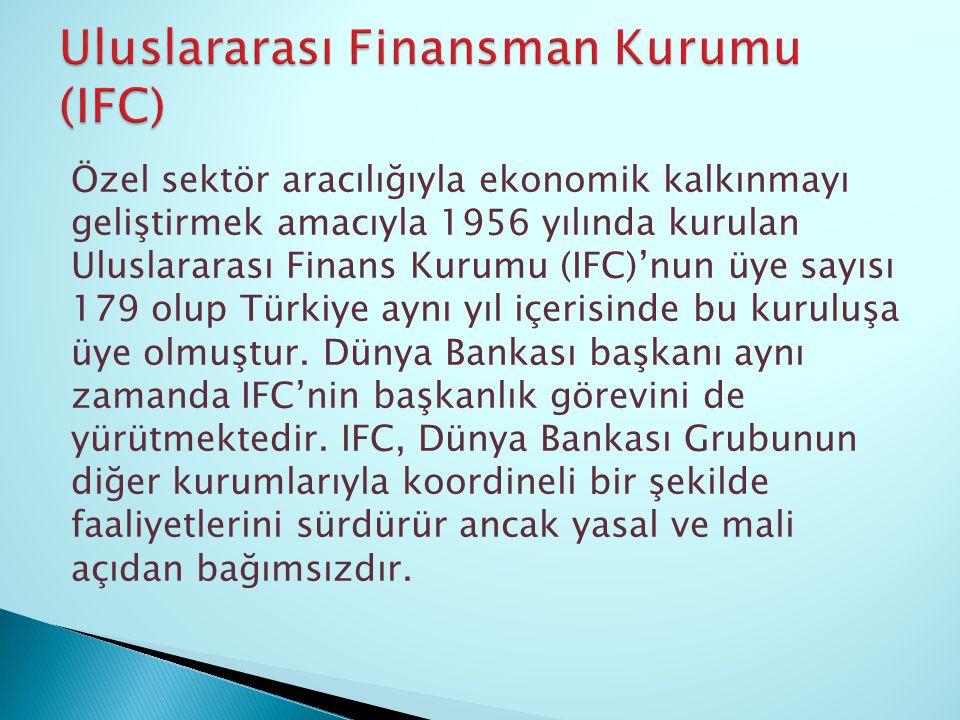 Uluslararası Finansman Kurumu (IFC)
