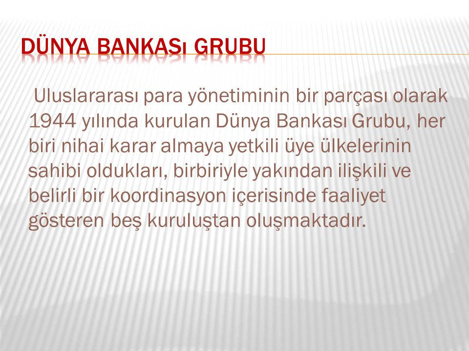 Dünya Bankası Grubu