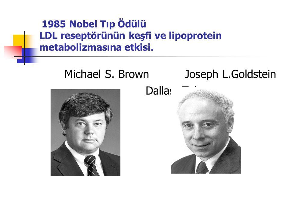Michael S. Brown Joseph L.Goldstein