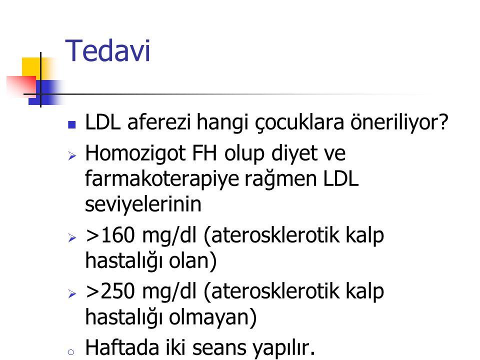 Tedavi LDL aferezi hangi çocuklara öneriliyor