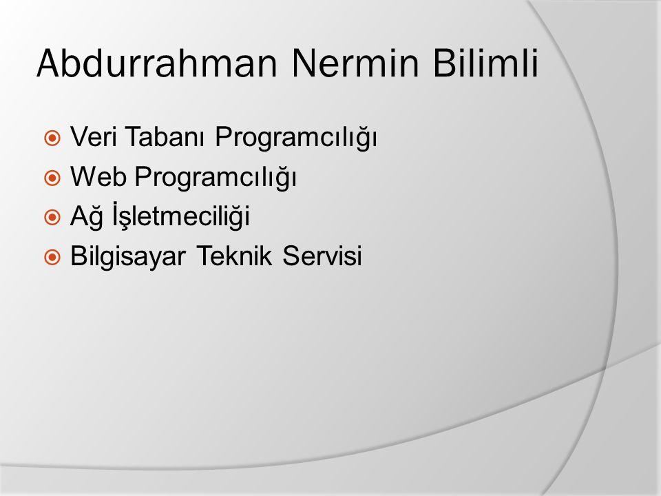 Abdurrahman Nermin Bilimli