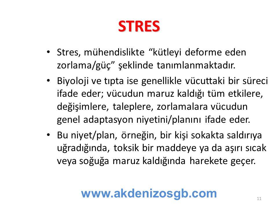 STRES www.akdenizosgb.com