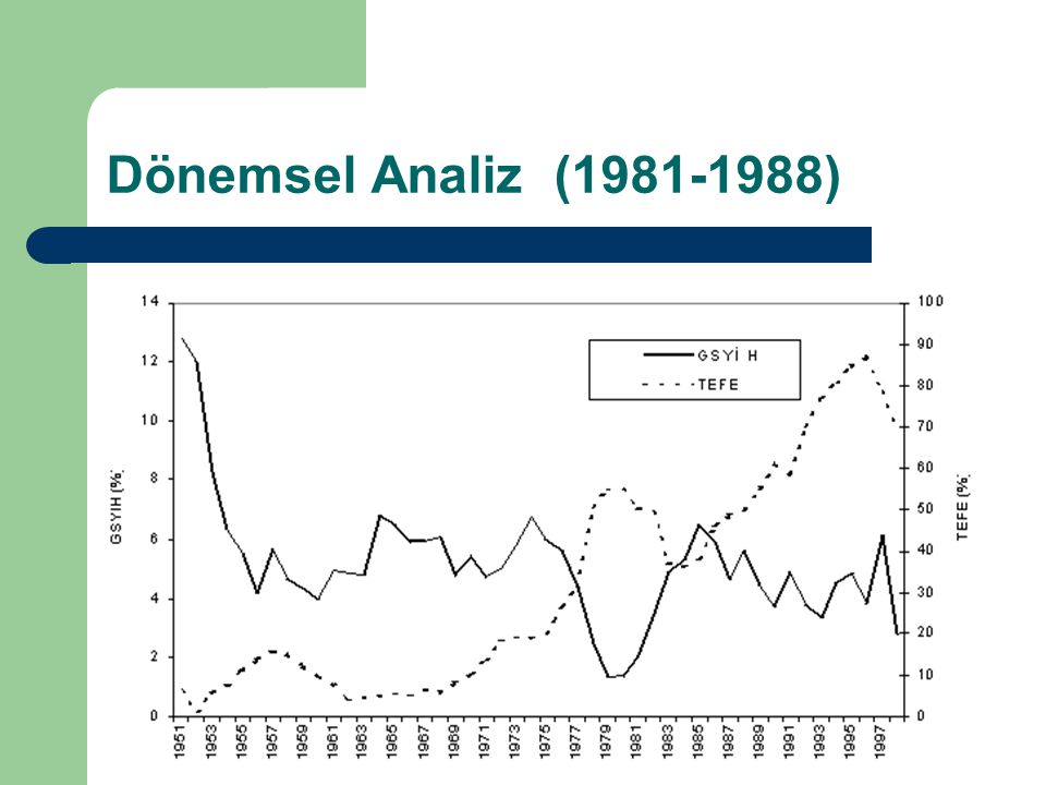 Dönemsel Analiz (1981-1988)