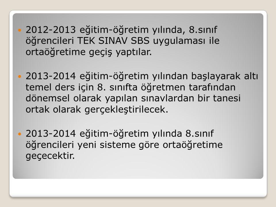 2012-2013 eğitim-öğretim yılında, 8