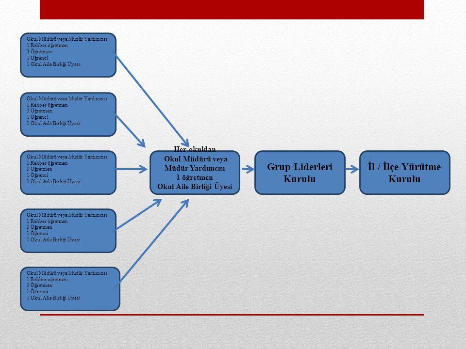 Okul Aile Birliği Üyesi İl / İlçe Yürütme Kurulu