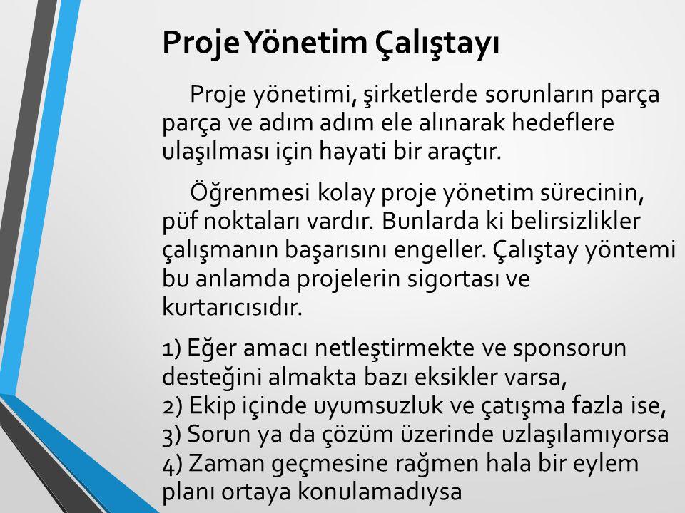 Proje Yönetim Çalıştayı