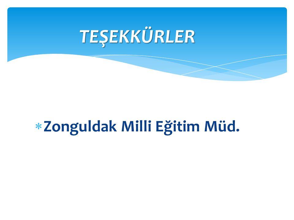 Zonguldak Milli Eğitim Müd.