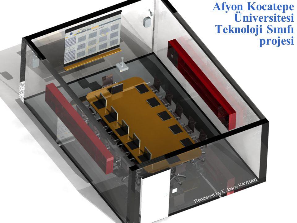 Afyon Kocatepe Üniversitesi Teknoloji Sınıfı projesi