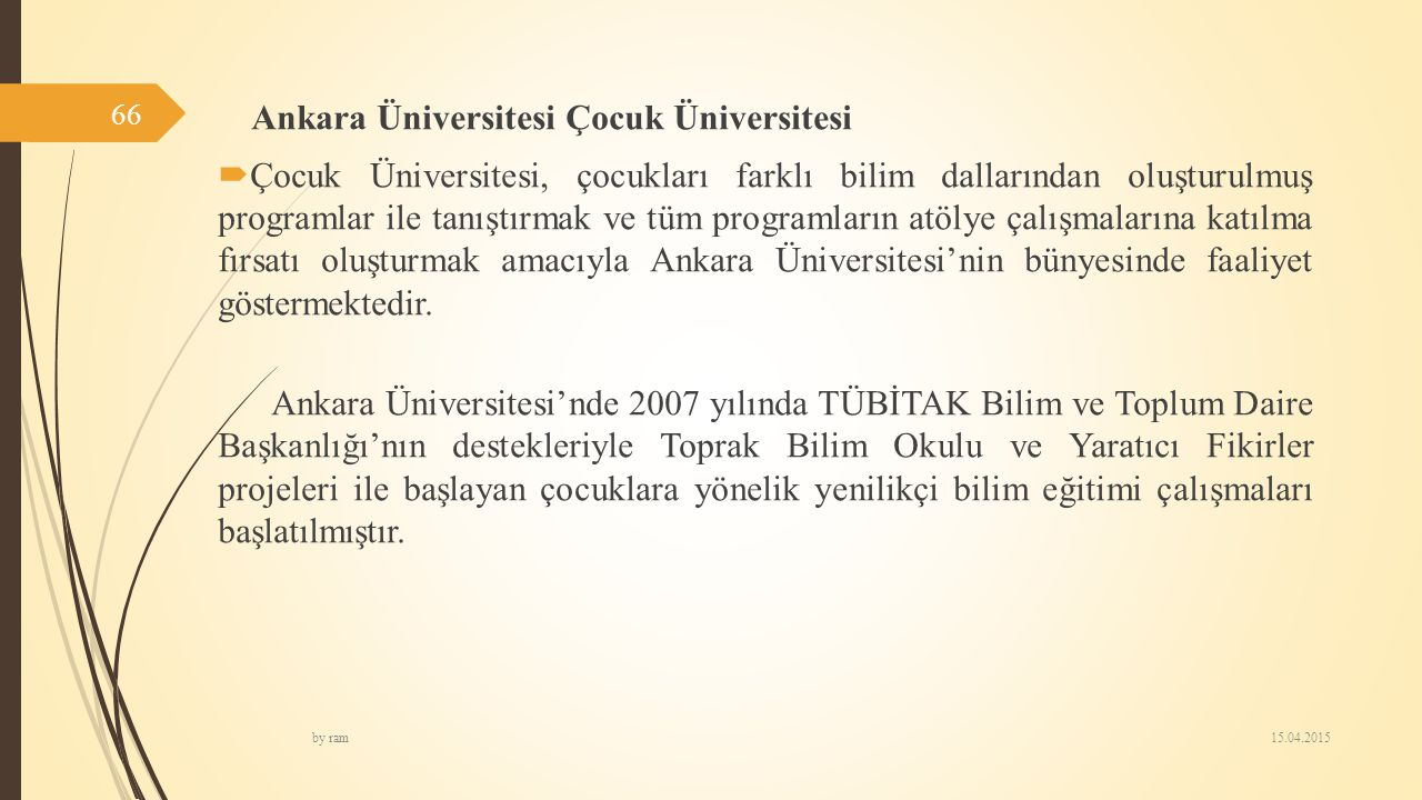 Ankara Üniversitesi Çocuk Üniversitesi