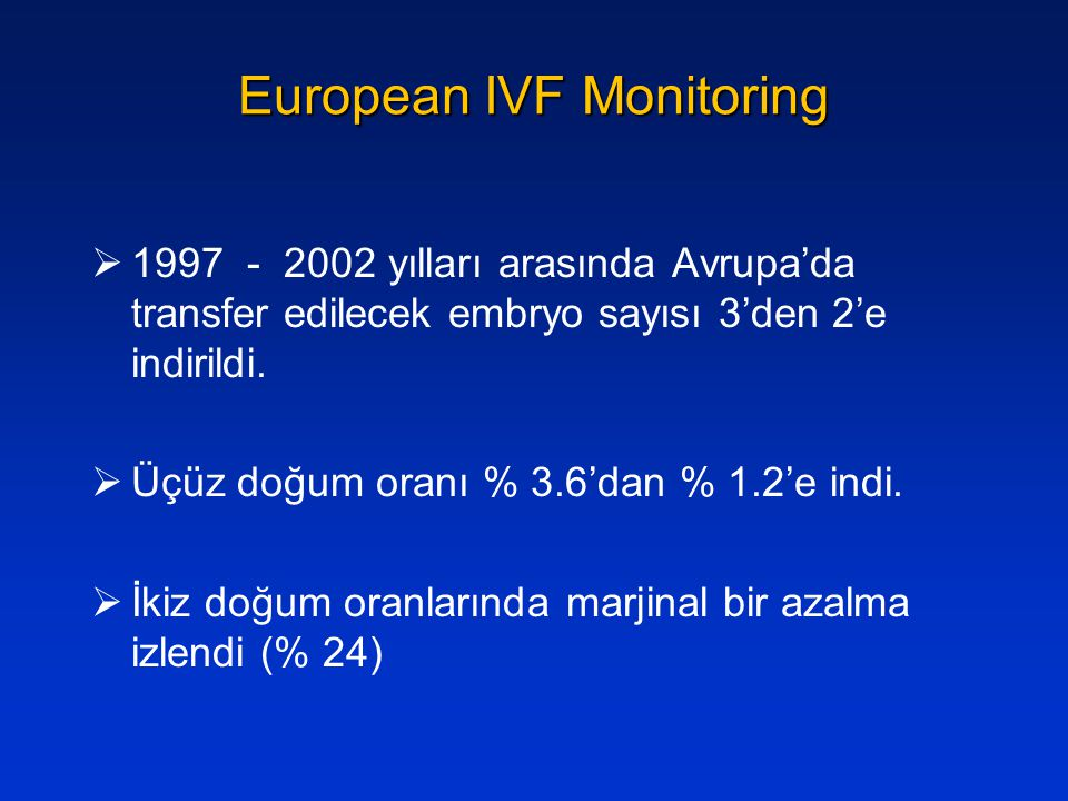 European IVF Monitoring