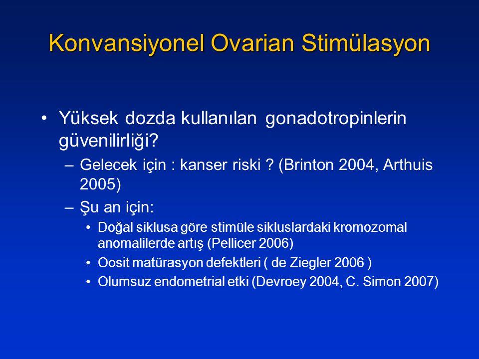 Konvansiyonel Ovarian Stimülasyon