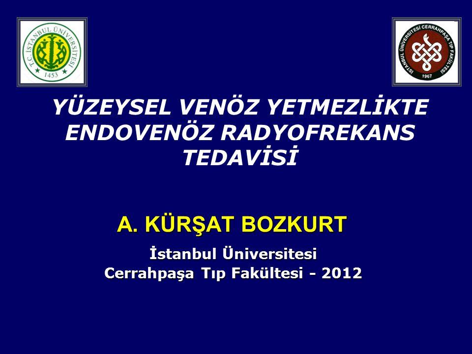 İstanbul Üniversitesi Cerrahpaşa Tıp Fakültesi - 2012