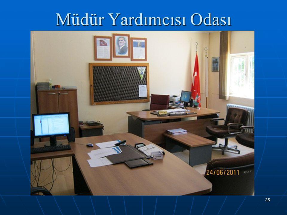 Müdür Yardımcısı Odası