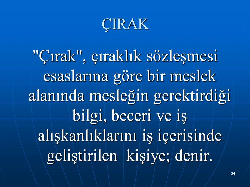 ÇIRAK