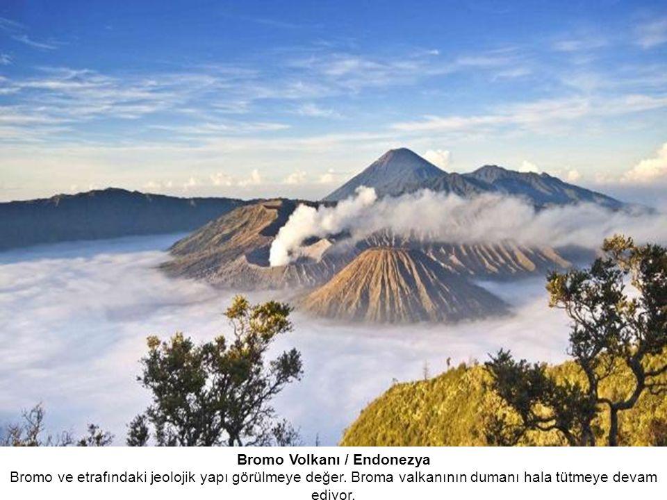Bromo Volkanı / Endonezya