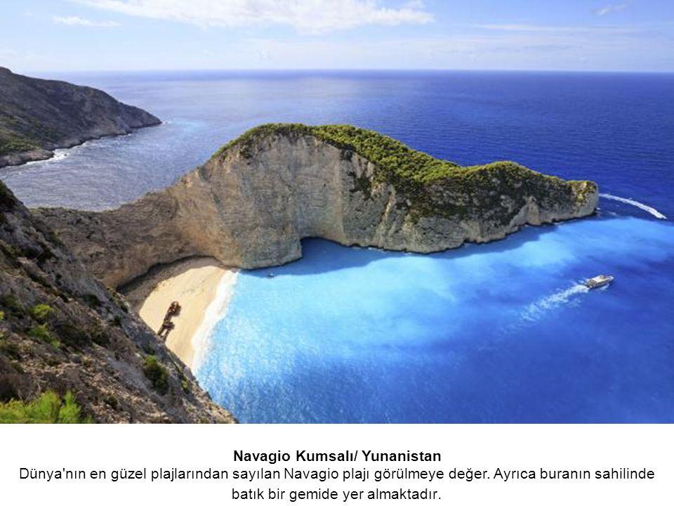 Navagio Kumsalı/ Yunanistan