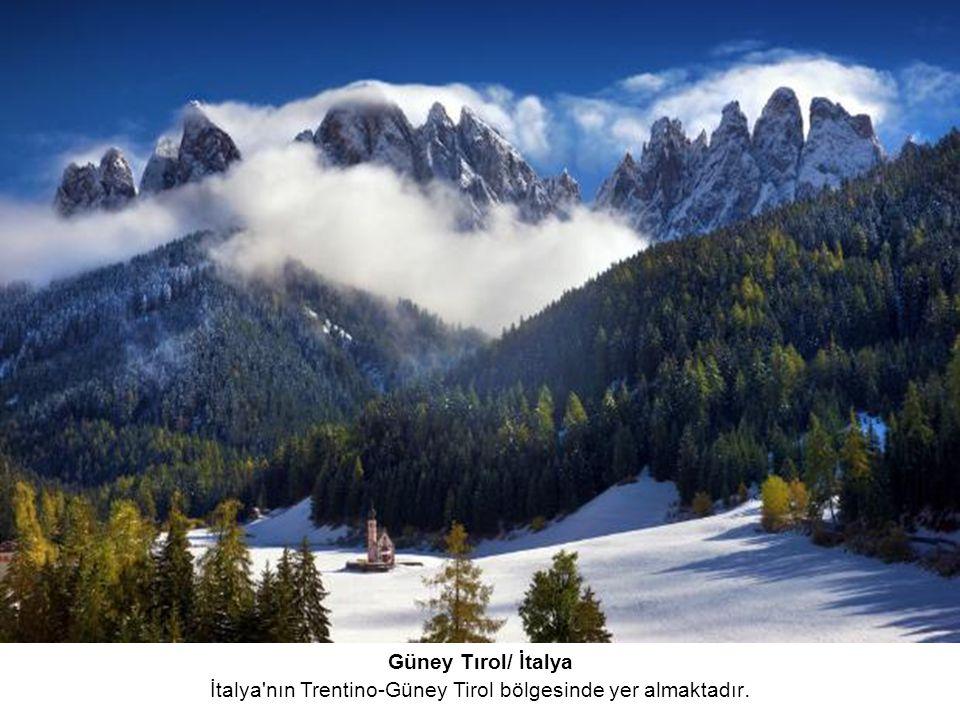 İtalya nın Trentino-Güney Tirol bölgesinde yer almaktadır.