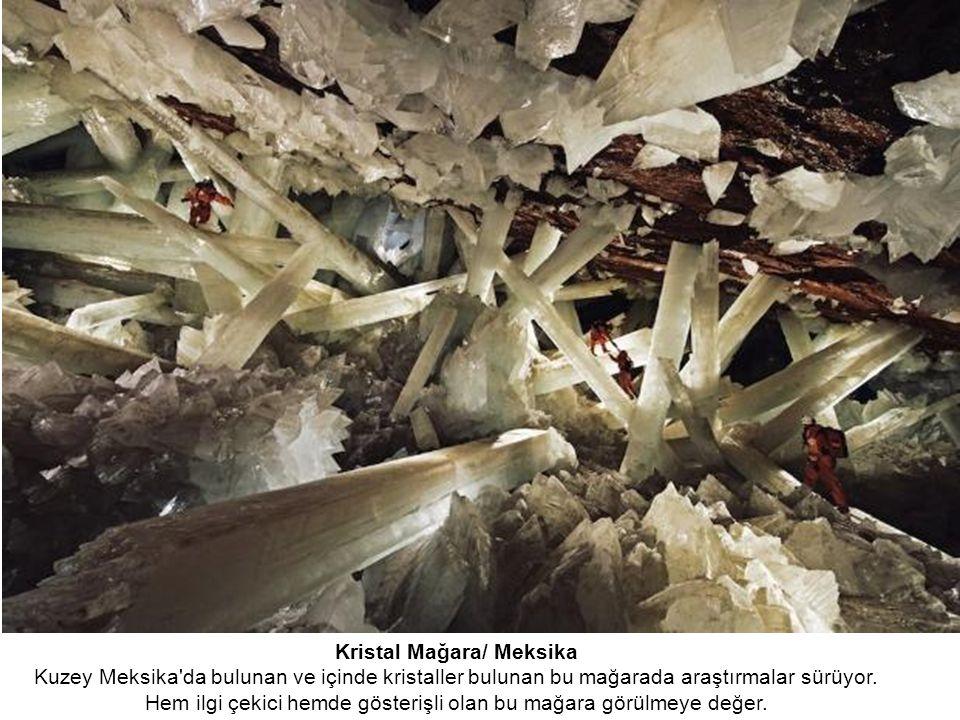 Kristal Mağara/ Meksika
