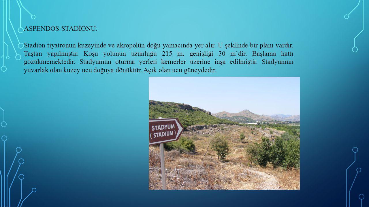 ASPENDOS STADİONU:
