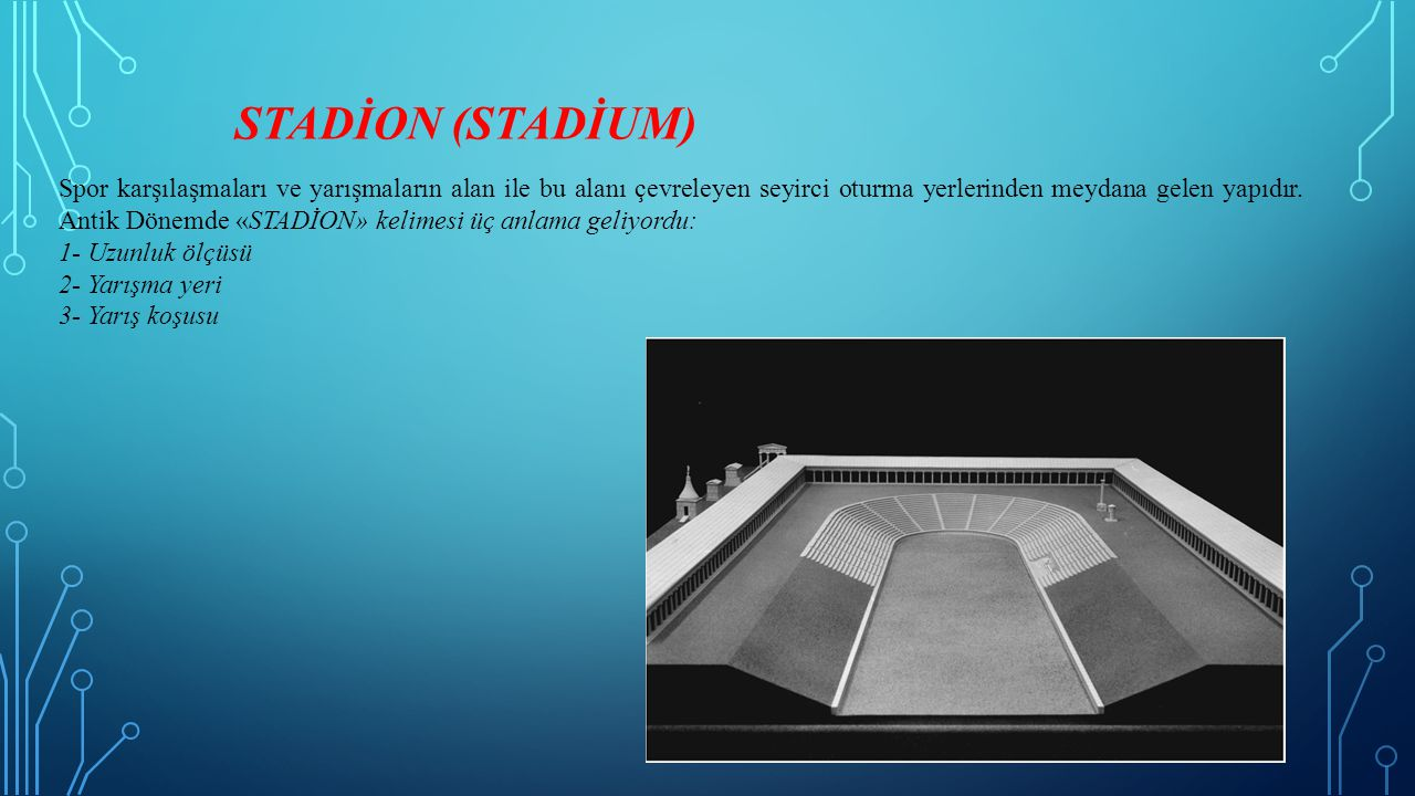 STADİON (STADİUM)