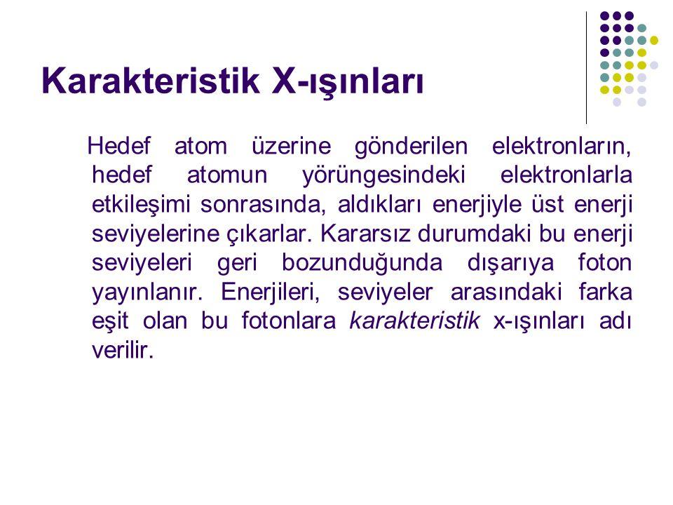Karakteristik X-ışınları