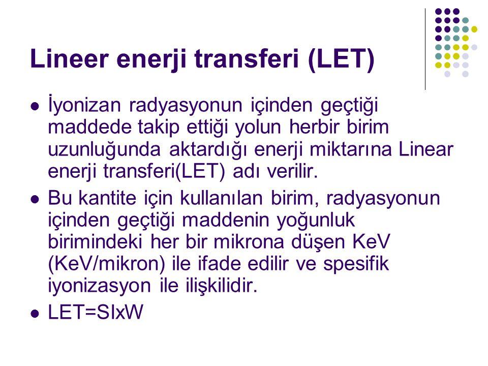 Lineer enerji transferi (LET)