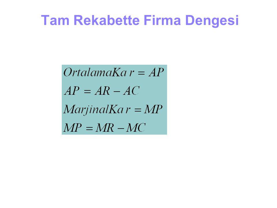 Tam Rekabette Firma Dengesi