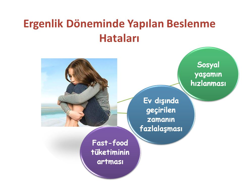 Ergenlik Döneminde Yapılan Beslenme Hataları