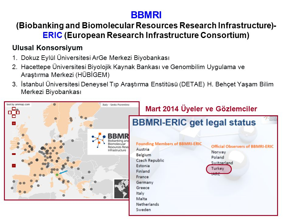 BBMRI (Biobanking and Biomolecular Resources Research Infrastructure)- ERIC (European Research Infrastructure Consortium)