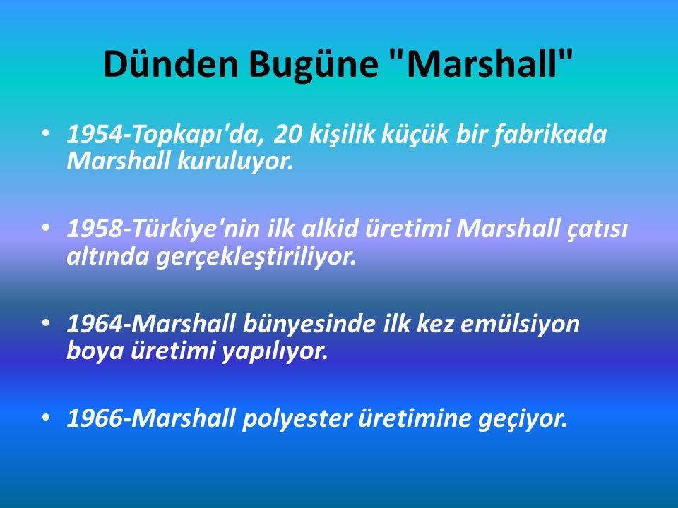 Dünden Bugüne Marshall