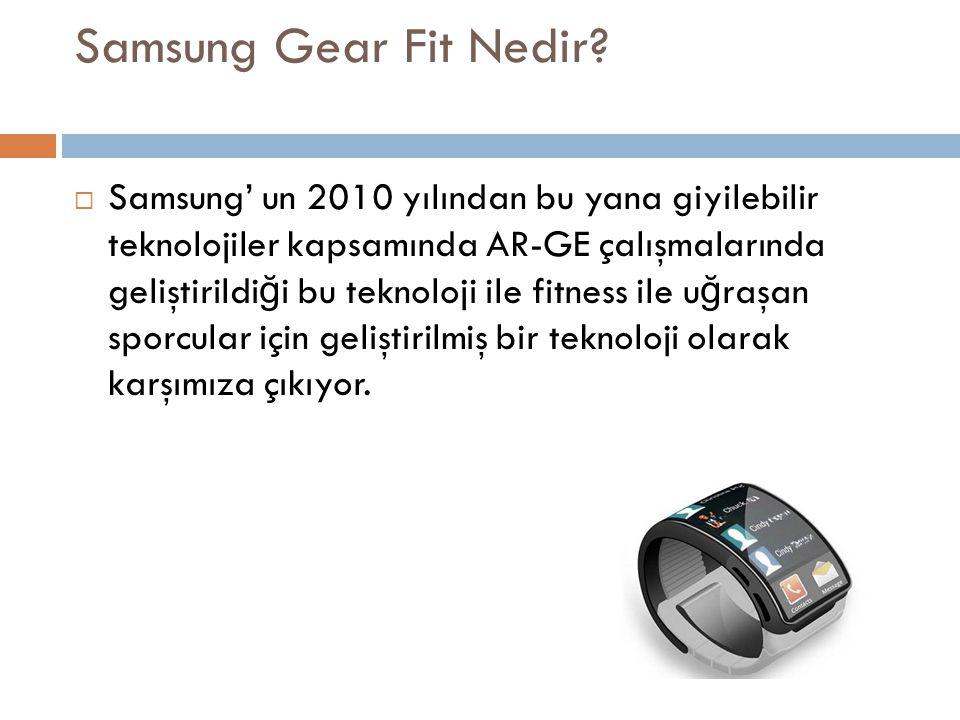 Samsung Gear Fit Nedir