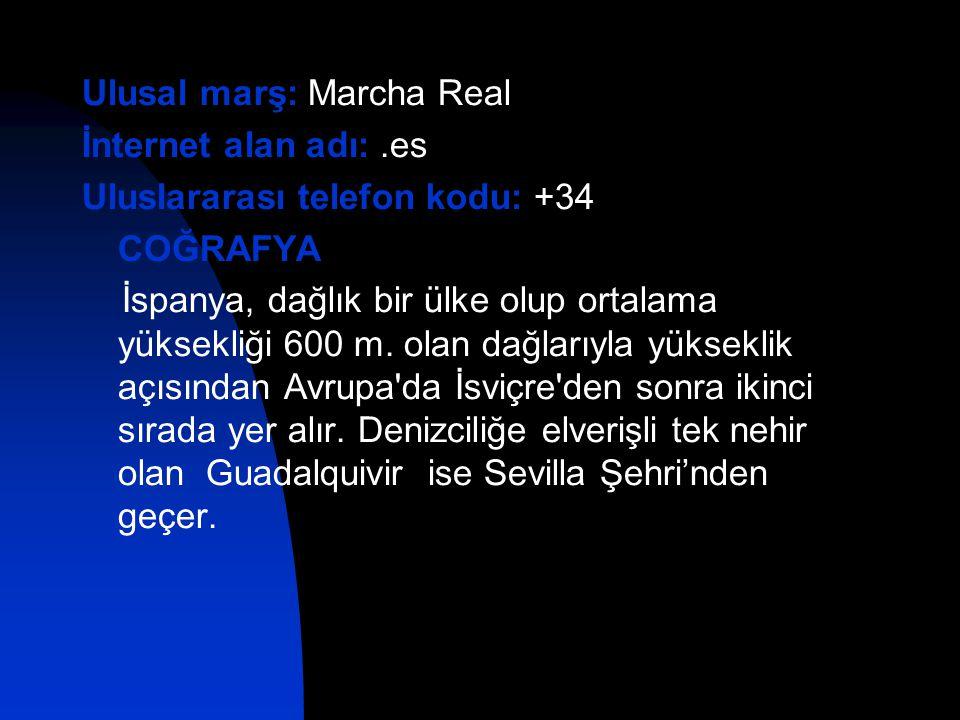 Ulusal marş: Marcha Real