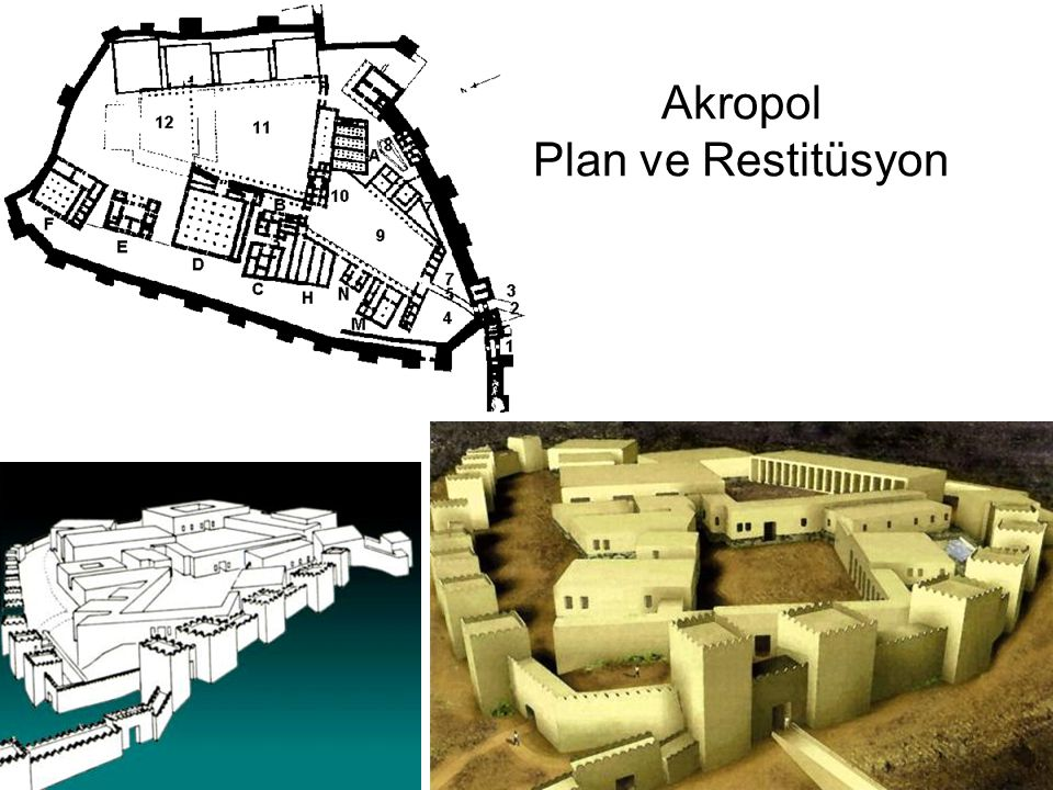 Akropol Plan ve Restitüsyon