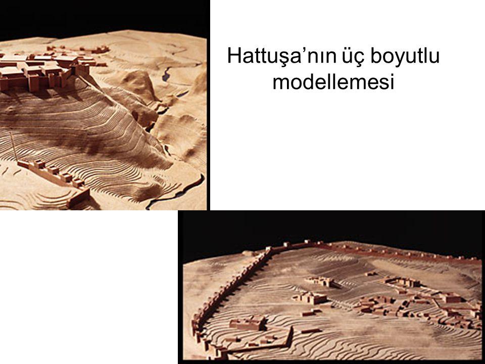 Hattuşa'nın üç boyutlu modellemesi