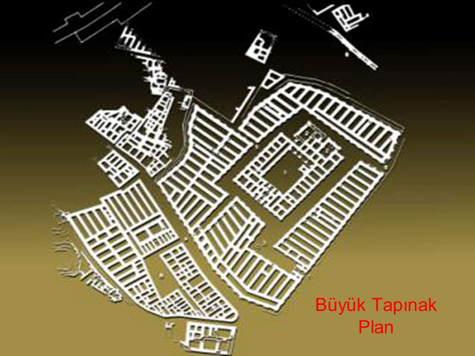 Büyük Tapınak Plan