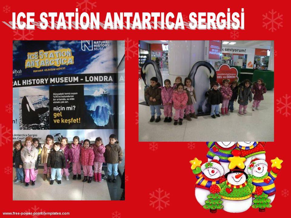 ICE STATİON ANTARTICA SERGİSİ