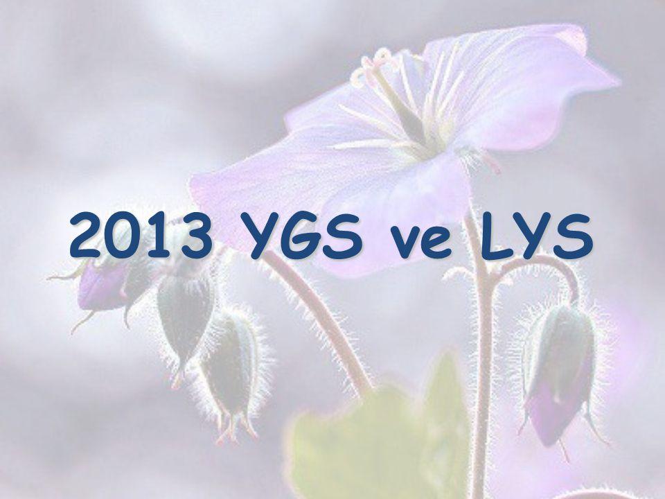 2013 YGS ve LYS 17