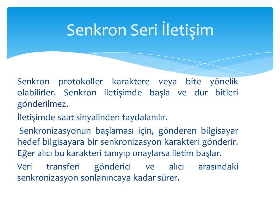 Senkron Seri İletişim