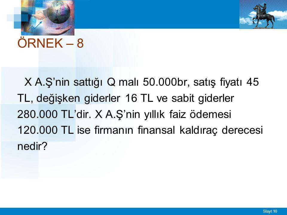 FKD = -------------------- Q(P-V) - F - I 50.000(45-16) - 280.000