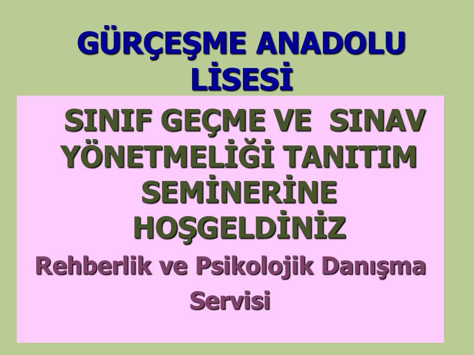 GÜRÇEŞME ANADOLU LİSESİ