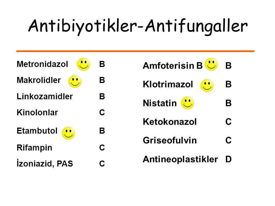 Antibiyotikler-Antifungaller